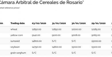 precio quintal de soja bolsa de cereales de rosario