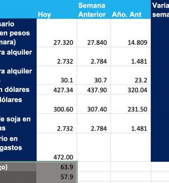 precio soja hoy