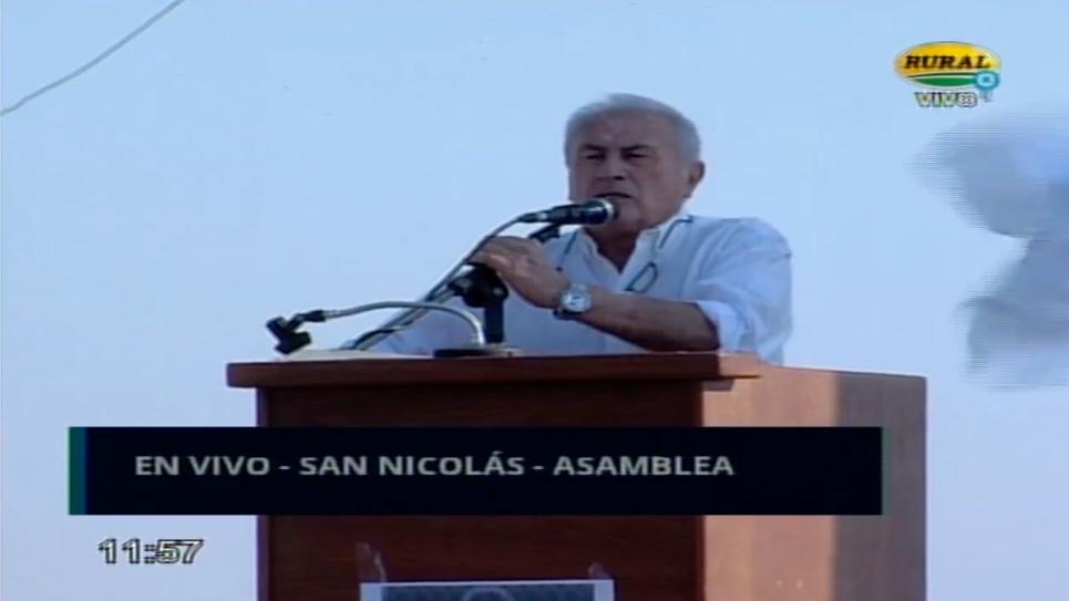 fuerte discurso contra los frigoríficos de Oscar Subarroca #9Jsannicolas